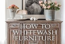 whitewash furniture