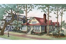 Cottage House Plans / by Sheila Powell Shields