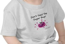 Don't Feed The Sugar Bugs! / Funny dental t-shirts for sale!
