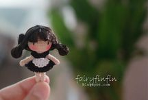 Fairyfinfin girl doll