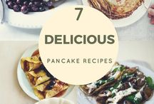 Sweet and Savoury Pancake Recipes / Delicious pancake recipes - including sweet and savoury pancakes - you can enjoy on pancake day and year round.