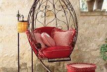 cadeiras de ferro