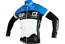 Cyklistika - Modré oblečení / Mé oblečení na cyklistiku. Nejlépe značky Apache, Lapierre, KupKolo :)