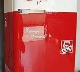 Custom coca cola fridges
