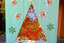 Christmas Tree Shaker Card - Jan 2012