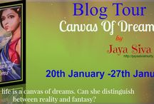 Canvas of Dream by Jaya Siva Murty / http://bookclubblogtours.blogspot.com/2015/01/canvas-of-dreams-by-jaya-siva-murty.html