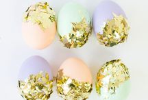 Happy Easter!  / Easter celebration inspiration and DIYs