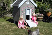 Fantasia Hen House / A fairytale home for your ladies of leisure