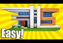 Minecraft huizen