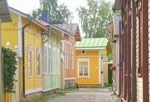 Old Finnish wooden buildings / Finnish architecture from 1700-1900