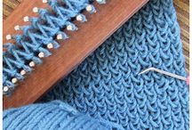 Loom knitting, ideas and patterns / by Barbara Jennings