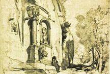 Eski Amasra / En eski Amasra eskizleri,karakalem,yağlıboya ve resimleri. RESSAM HAKKINDA: 1901 yılında ölen sanatçının bugün dünyanın değişik yerlerinde müze ve özel koleksiyonlarda eserleri bulunmaktadır. Kısaca, o yıllarda Türkiye , İran ve Afganistan 'da 10 yıl kadar yaşayan ve buralardan çarpıcı tablolar yapan Jules Laurens dünyanın en önemli Oryantalist ressamlarından biridir. 20 Haziran-24 Ağustos 1847 tarihleri arasında Amasra'da çalışmalar yapmıştır.