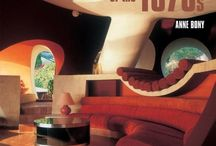 Colourful interiors of the 60's and 70's