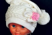 Beanies for Girls / Knitted beanies for girls from our own collection