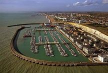 Brighton Marina, East Sussex, England / by Let's Unwind