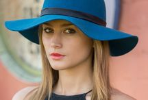 Felt Collection / Stylish and colourful collection of hats, in latest trends, including capeline, fedora, baseball caps and trilby; perfect for Autumn and all year round.