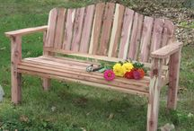 Gardening:  Benches & Chairs / I need some!