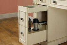 Details | Clever Storage / Clever storage ideas for kitchen and bathroom.