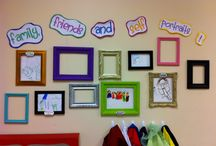 for my classroom. / fun and creative ideas for organizational methods, bulletin boards, window displays, cute rule charts, and classroom decorations to enhance an awesome learning environment for children of all ages. / by Stephanie Stivers