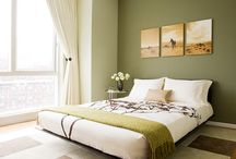 Olive Green Bedroom / ..... and whatever other colour schemes I might fancy ..