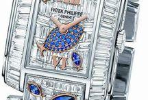 Luxury watch diamonds / Various luxury watches with diamonds