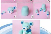 Tutoriales (Gum Paste/polymeric clay/Cold Porcelain)