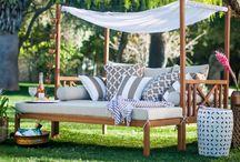 záhradne postele
