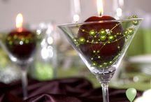 Sviečky na svadbu wedding candle decorations
