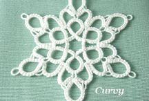 tatting de craciun