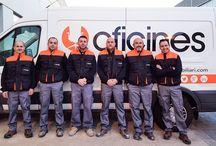 El equipo Oficines