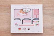 Baby Girl Edition Project Life / Layouts and ideas using the Baby Girl Edition Project Life Core Kit by Becky Higgins / by Becky Higgins LLC