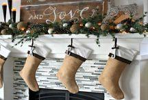 Christmas Mantelpiece Decorating Ideas