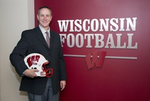 Football Coach Gary Andersen / by Wisconsin Athletics