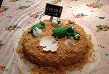 Eigen creaties taart/cupcakes / Taarten voor mijn kids