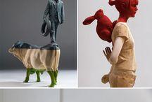 彫刻-立体