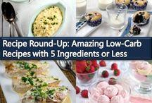 Low-Carb & Keto Recipe Round-Ups
