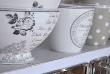 kitchen ❤ White & Grey