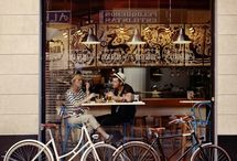 Bicycles & Cafes