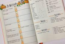 planing / ежедневник, планирование, списки