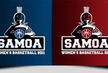 Samoa Women's Basketball Team / Logo Designed for the women's basketball team.