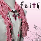 "F.A.I.T.H Thinks Pink / In recognition of Breast Cancer Awareness Month, we are pinning all things pink. We will be donating a portion of the sales on ALL ""PINK"" purchases for the month of October to Susan G. Komen for the Cure. ""PINK"" items are located on pages 12, 13, and 34 of our main catalog."
