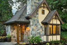 Építészet, kis házak