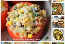 Quinoa recipes / by Katy Timmons
