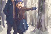 Lunar Chronicles / Cinder, Scarlett, Cress, Winter