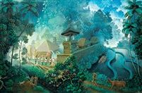 Indonesian Art (8) Ni Gusti Agung Galuh / Paintings by Ni Gusti Agung Galluh