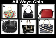 Thursdays Are All Ways Chic September 4, 2014 / Designer Handbags at 10 PM at OneCentChic