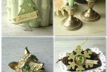 christmas decor ideas / by Elaine Strathern