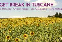Across Tuscany / journey destination Tuscany country style