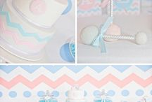 Gender Reveal ♡ Sweet Tables