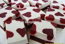 Savon St valentin